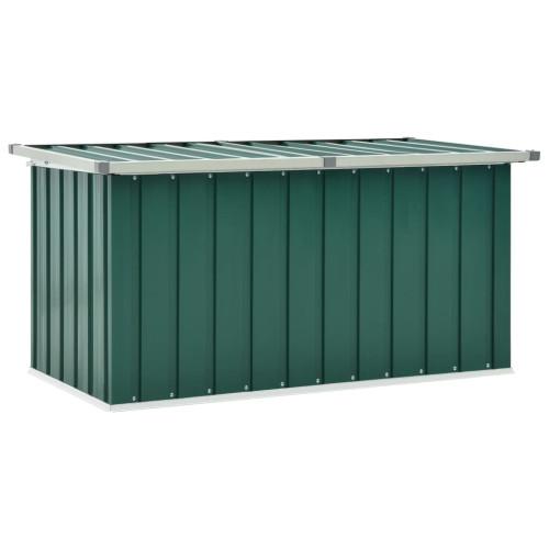 vidaXL Dynbox grön 129x67x65 cm