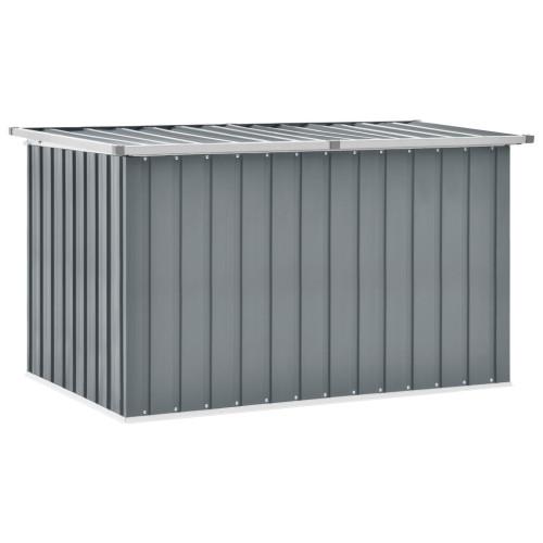 vidaXL Dynbox grå 149x99x93 cm