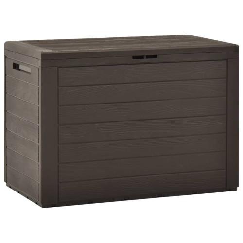 vidaXL Dynbox brun 78x44x55 cm