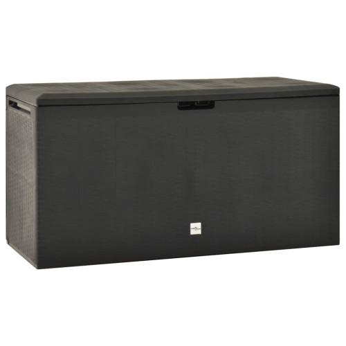 vidaXL Dynbox antracit 114x47x60 cm