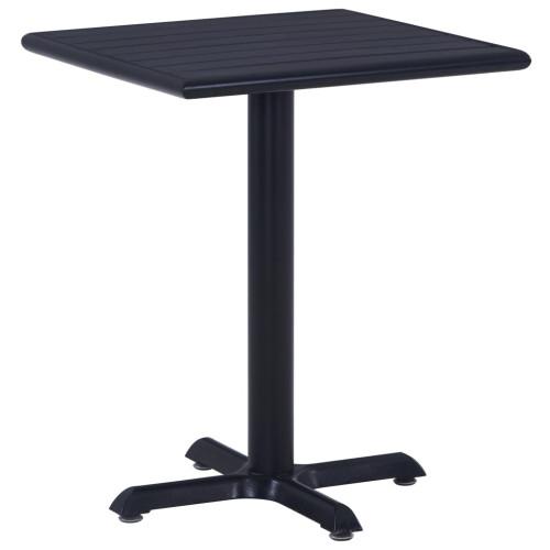 Dream Living Trädgårdsbord svart 60x60x75 cm