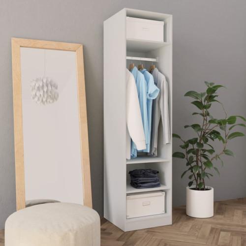 Dream Living Garderob vit 50x50x200 cm spånskiva