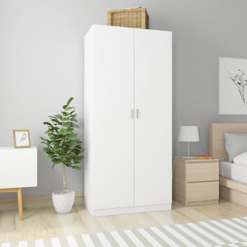 Dream Living Garderob vit 90x52x200 cm spånskiva