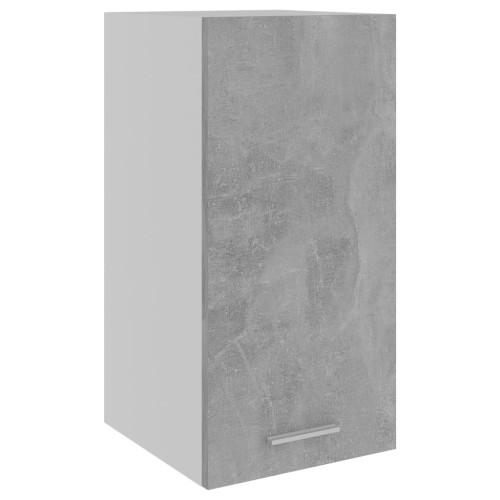 vidaXL Väggskåp betonggrå 29,5x31x60 cm spånskiva
