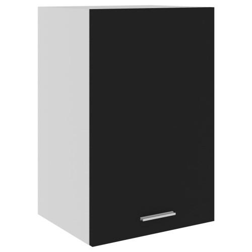 vidaXL Väggskåp svart 39,5x31x60 cm spånskiva