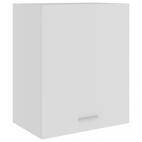 vidaXL Väggskåp vit 50x31x60 cm spånskiva
