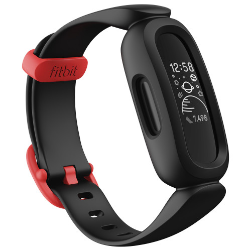 Fitbit Ace 3, Black/Red