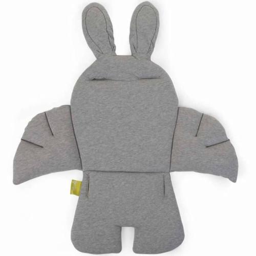 CHILDHOME CHILDHOME Universell barnstolsdyna kanin grå CCRASCJG
