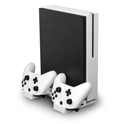 NITHO Dockningsstation för XBOX ONE inkl 2x Batteripack
