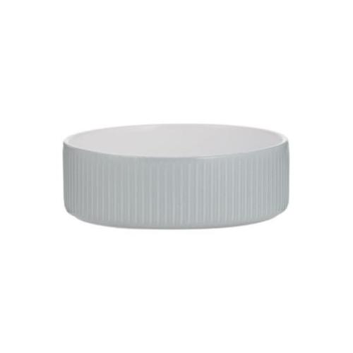 MASON CASH Keramikskål Linear Grey Hund MC d=150x50mm