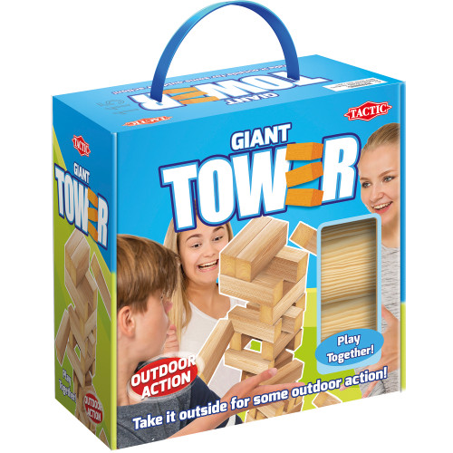 Tactic XL Tower in cardboard box