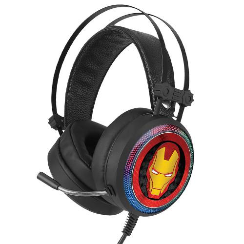 MARVEL Gaming Headset USB 7.1-ljud Ir