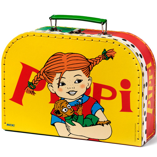 Pippi Resväska 25cm Gul
