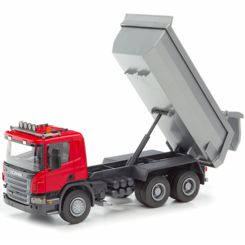 EMEK Scania Tipplastbil röd