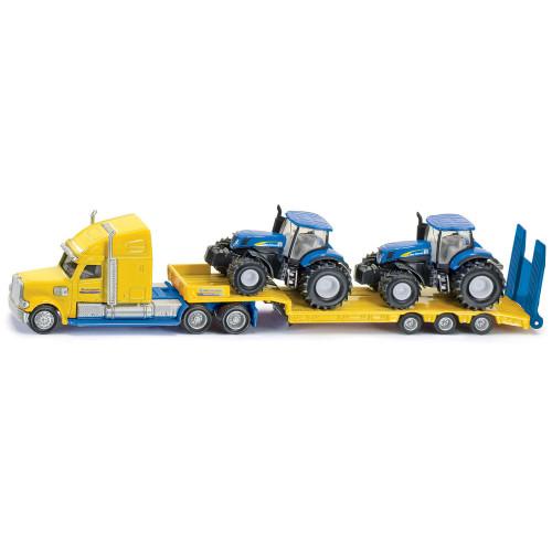 SIKU Lastbil Med NH.Traktor 1:87