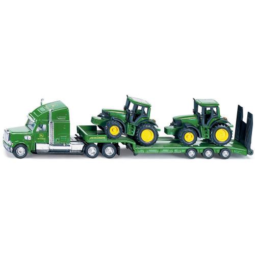 SIKU Lastbil M/JD Traktorer 1:87