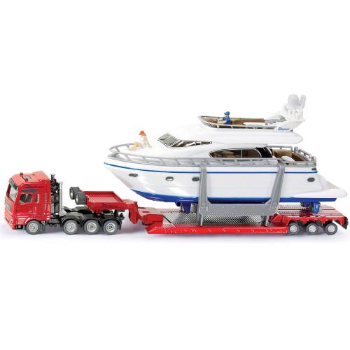 SIKU Transport Bil/Yacht 1:87