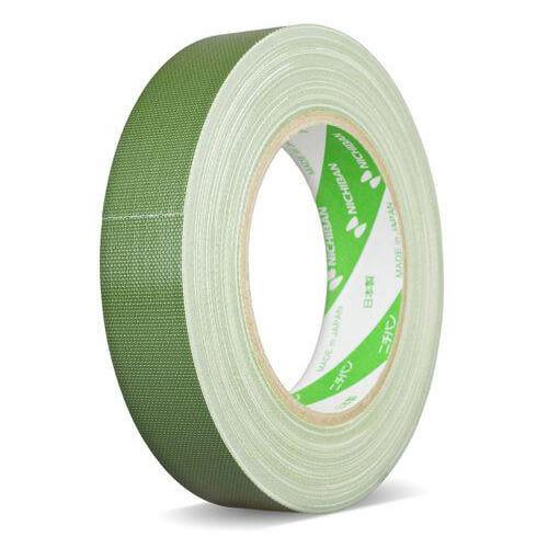 NICHIBAN Gaffatejp Grön 25mm x 25m, Glossy