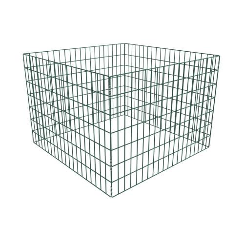 vidaXL Kompostgaller kvadrat 100 x 100 x 70 cm