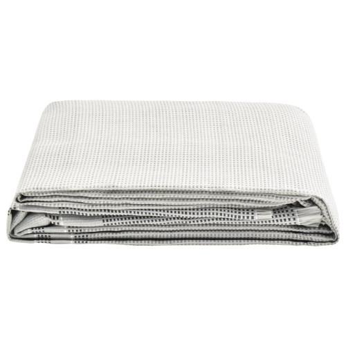 vidaXL Tältmatta 550x300 cm grå
