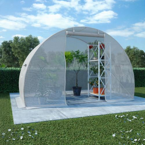 vidaXL Växthus 4,5m² 300x150x200 cm