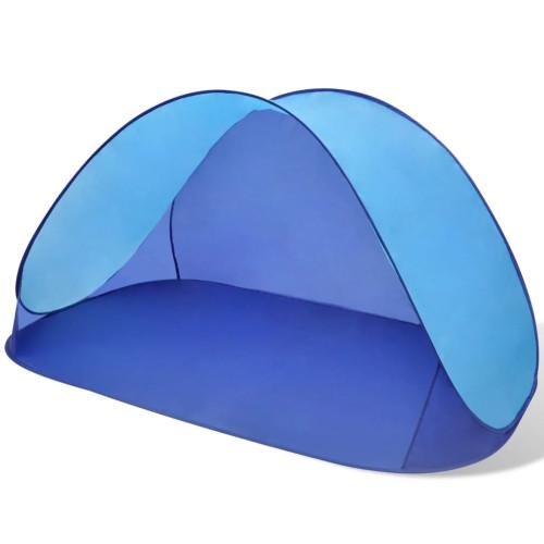 Dream Living Strandtält Ljusblått UV-beständigt vattenavvisande
