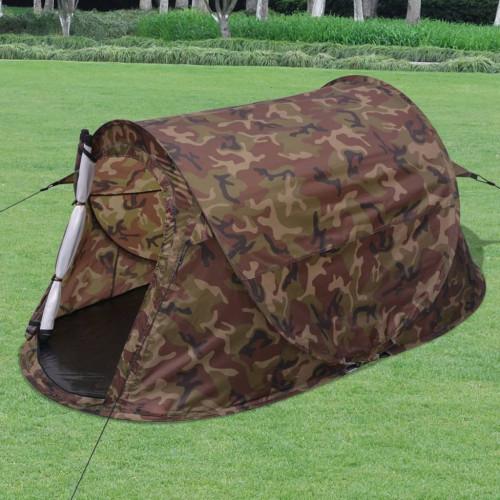 Dream Living Tvåmannatält i kamouflagefärg