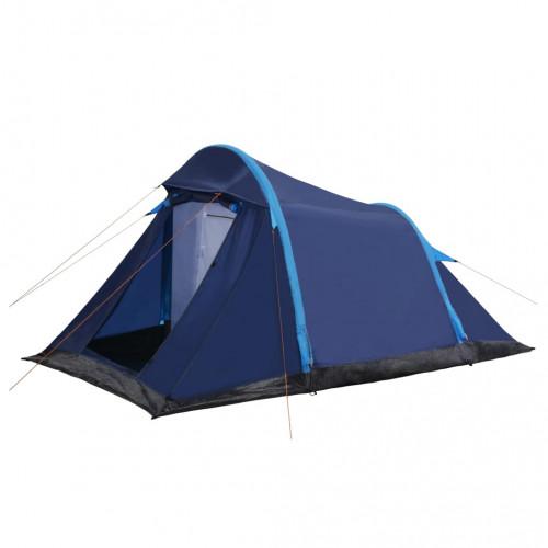 Dream Living Campingtält med uppblåsbara stänger 320x170x150/110 cm blå