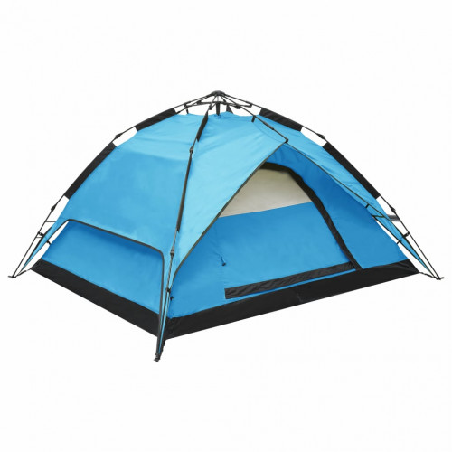 Dream Living Pop-up campingtält 2-3 personer 240x210x140 cm blå