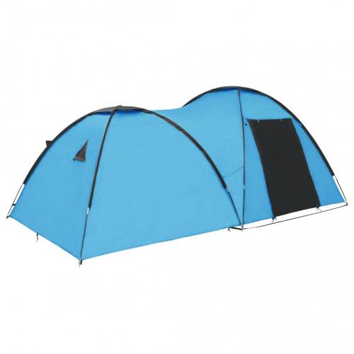 Dream Living Kupoltält 450x240x190 cm 4 personer blå