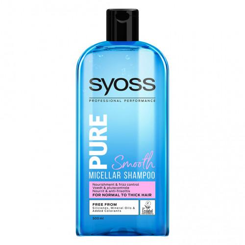 Schwarzkopf Syoss Pure Smooth Shampoo 500 ml