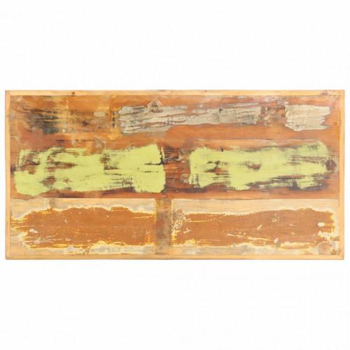 Dream Living Bordsskiva i massivt återvunnet trä 16 mm 120x60 cm