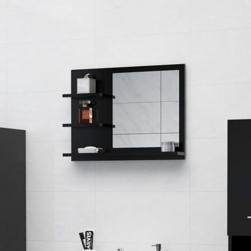 Dream Living Badrumsspegel svart 60x10,5x45 cm spånskiva