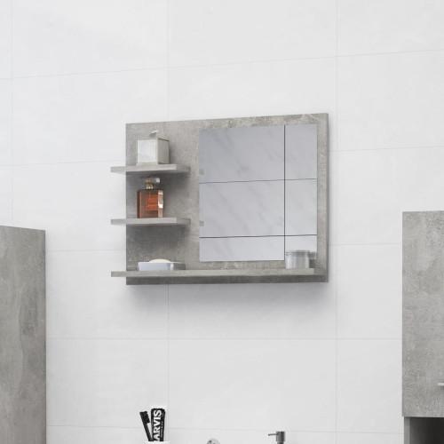 Dream Living Badrumsspegel betonggrå 60x10,5x45 cm spånskiva