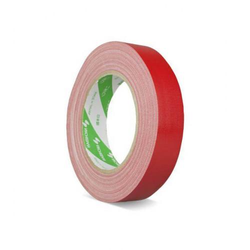 NICHIBAN Gaffatejp Röd 25mm x 25m, Glossy