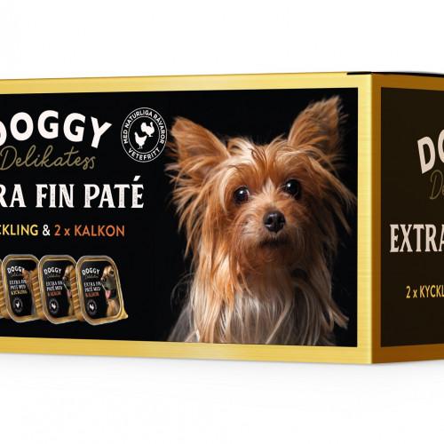 DOGGY D-paté Mix Kyckling Kalkon