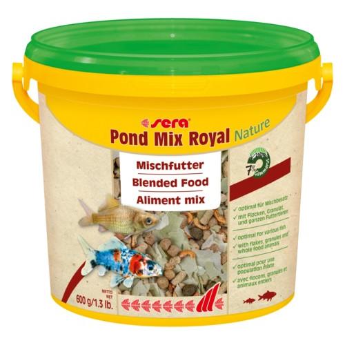 SERA Pond Mix Royal flingor/pellets