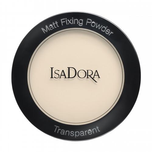 IsaDora Matt Fixing Blotting Powder - Sheer Blonde 01