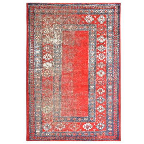 vidaXL Matta röd 80x150 cm PP