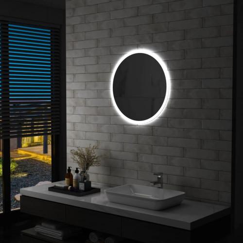 vidaXL Badrumsspegel LED 60 cm