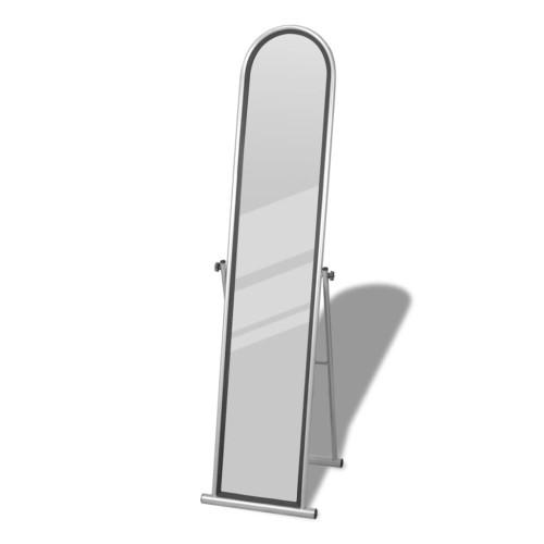 vidaXL Fristående spegel 152cm grå