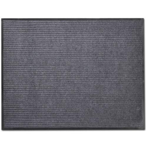 vidaXL Dörrmatta PVC Grå 90 x 60 cm