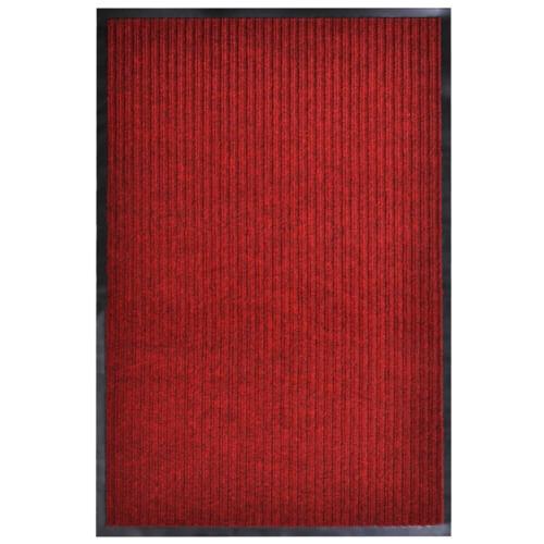 vidaXL Dörrmatta röd 160x220 cm PVC
