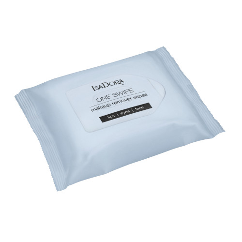 IsaDora One Swipe Makeup Remover Wipes 25 st