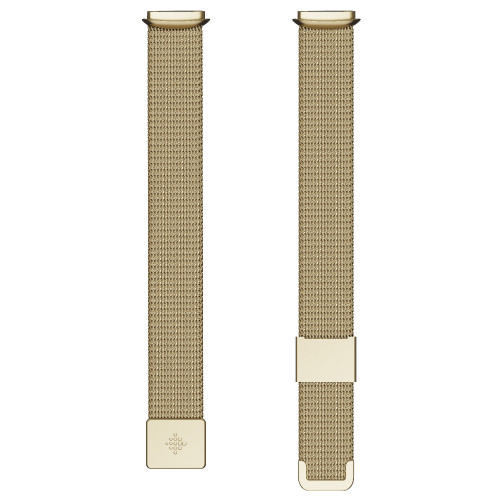 Fitbit Luxe, Metal Mesh Soft Gold (On