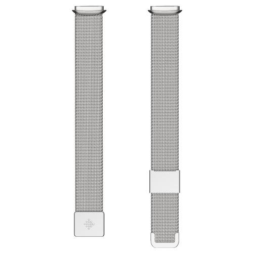 Fitbit Luxe, Metal Mesh Platinum (One
