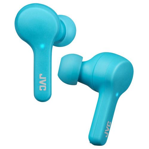 JVC Hörlur In-Ear True Wireless Gumy HA-A7T Blå
