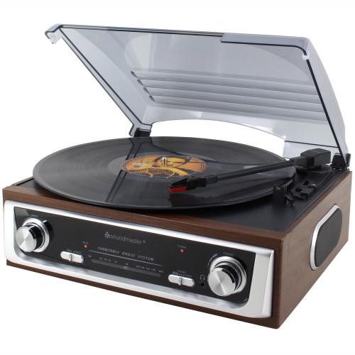 Soundmaster Skivspelare PL196H