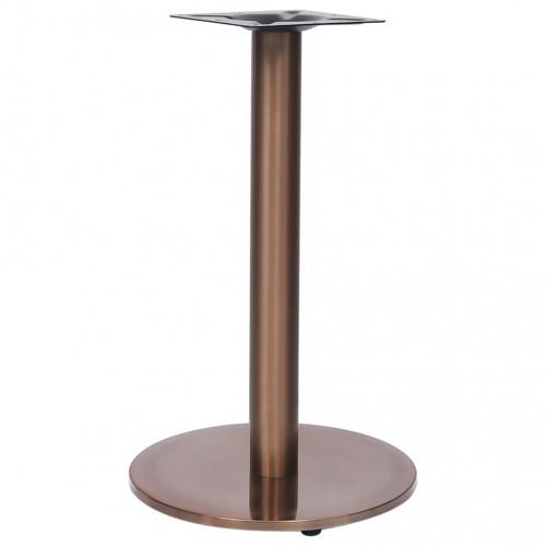 Dream Living Bordsben för cafébord guld Ø45x72 cm rostfritt stål