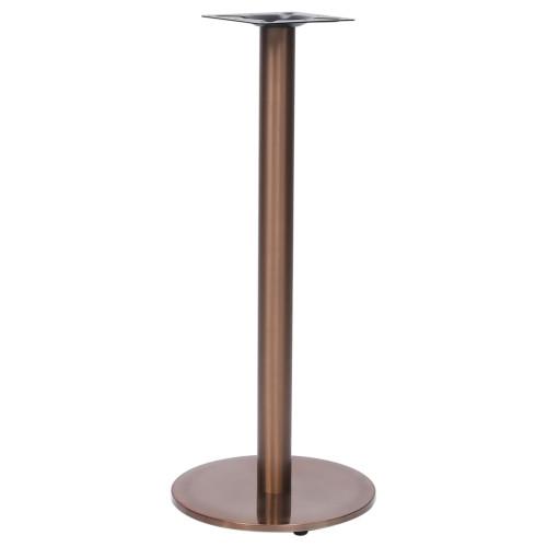 Dream Living Bordsben för cafébord guld Ø45x107 cm rostfritt stål